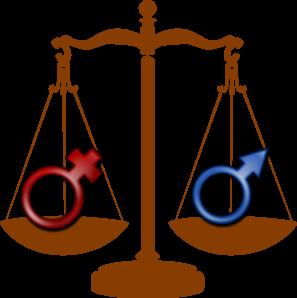 Waga na których są umieszczone symbole płci